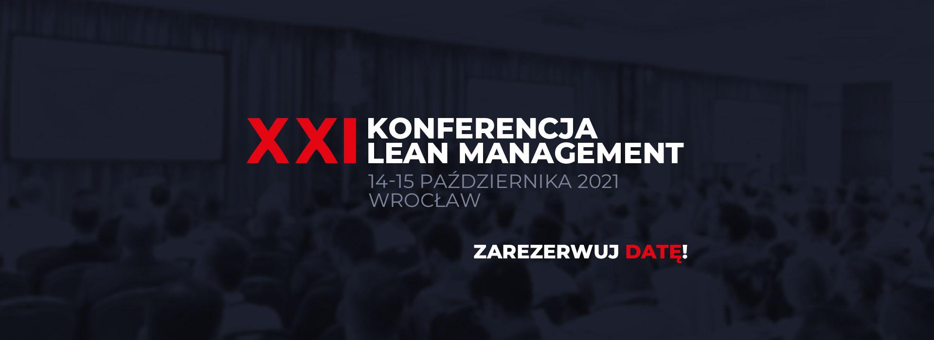 Konferencja Lean Management Wrocław, 15-16 października 2020